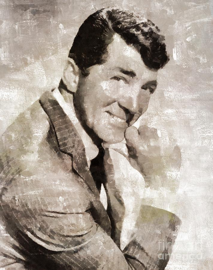 Dean Martin Vintage Hollywood Legend Painting