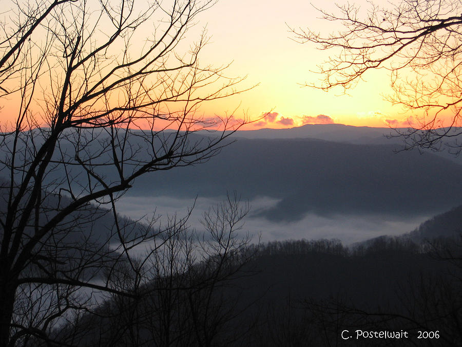December Photograph - December Sunrise by Carolyn Postelwait