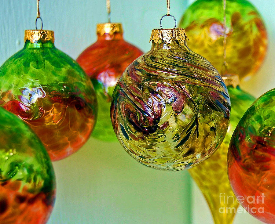 Christmas Photograph - Deck The Halls by Debbi Granruth