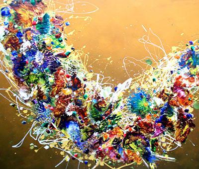 Deep Sea Painting by Bukhari