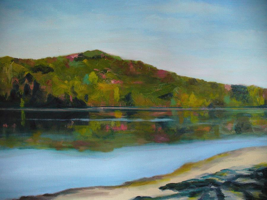Lake Painting - Deer Lake by Joe Lanni