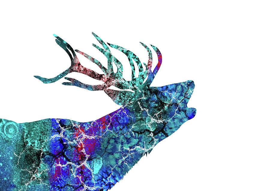 Deer Painting - Deer by Rosalia S