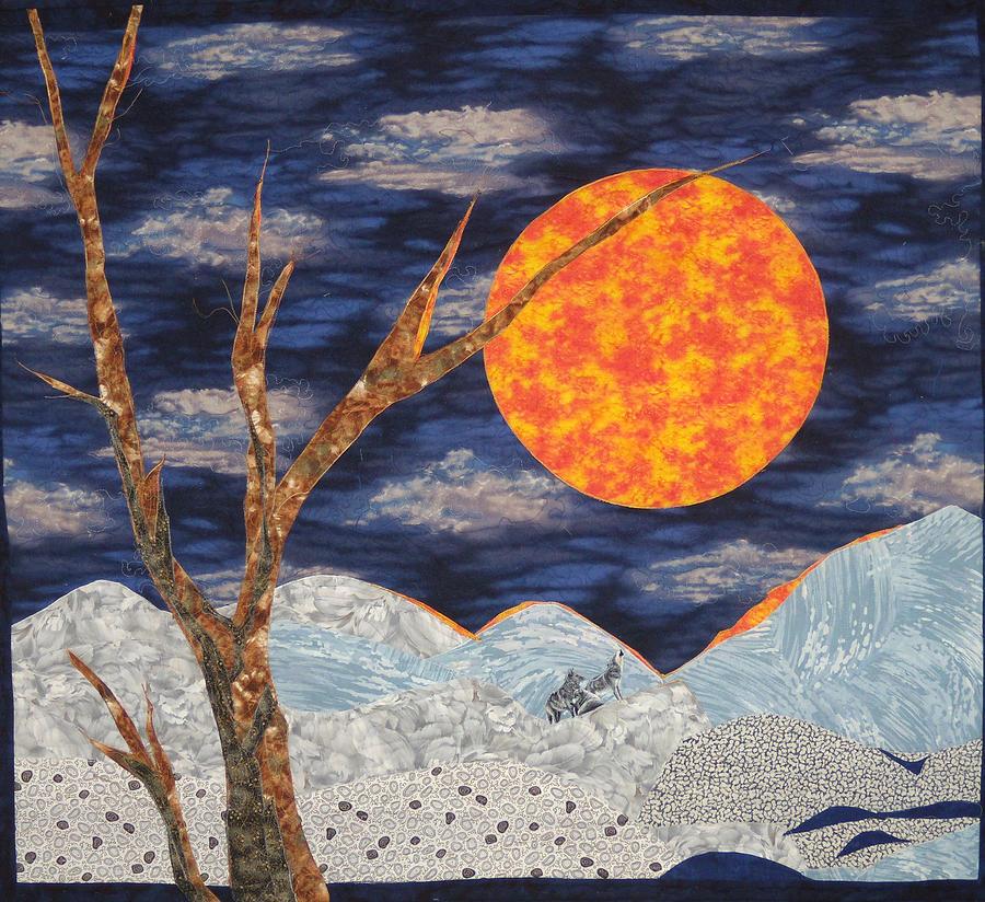 Snow Tapestry - Textile - Defiance by Maureen Wartski