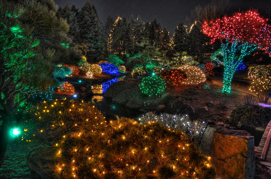 Merveilleux Denver Digital Art   Denver Botanic Gardens Of Light By Tom Tobiassen