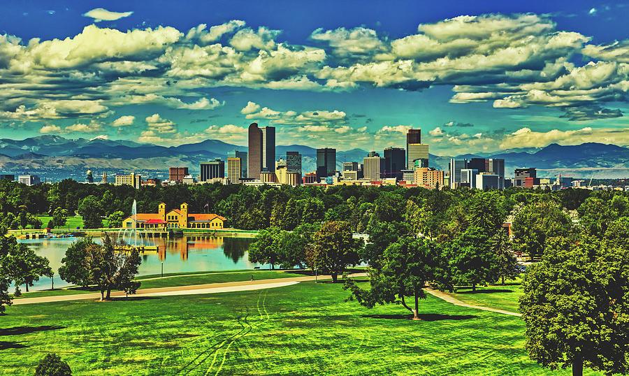 Denver Photograph - Denver City Park by Library Of Congress