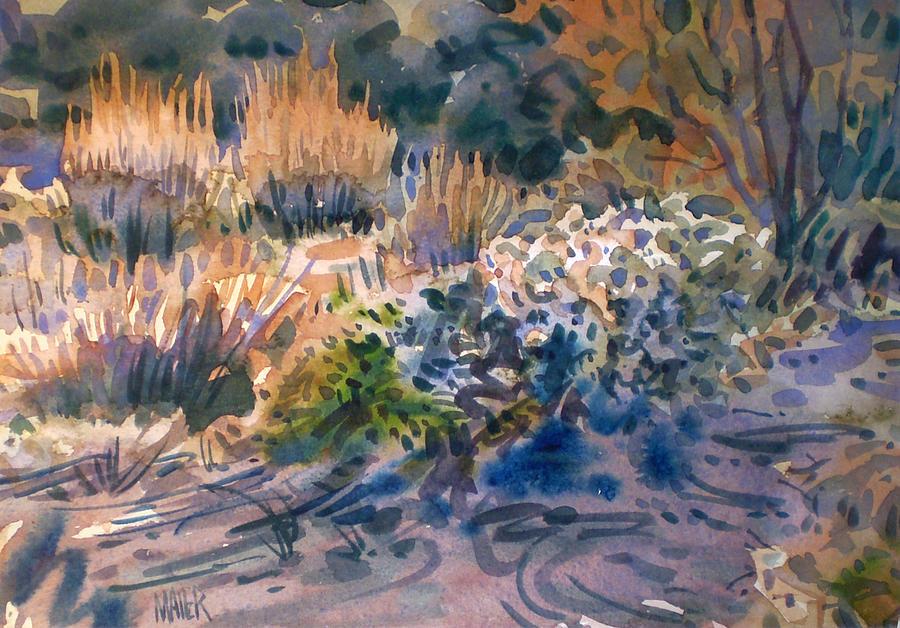 Desert Flora Painting - Desert Flora by Donald Maier
