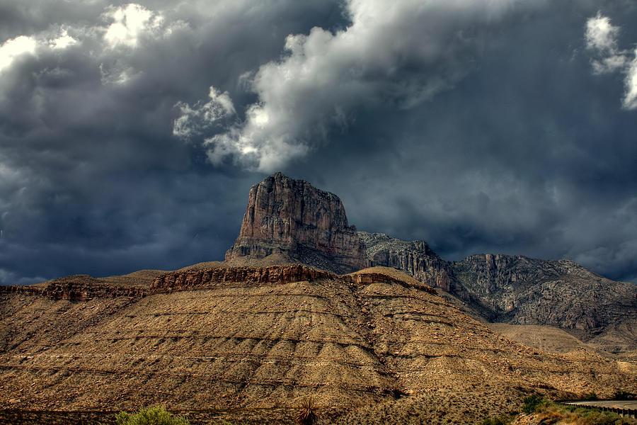 Desert Photograph - Desert Storm Clouds by Farol Tomson
