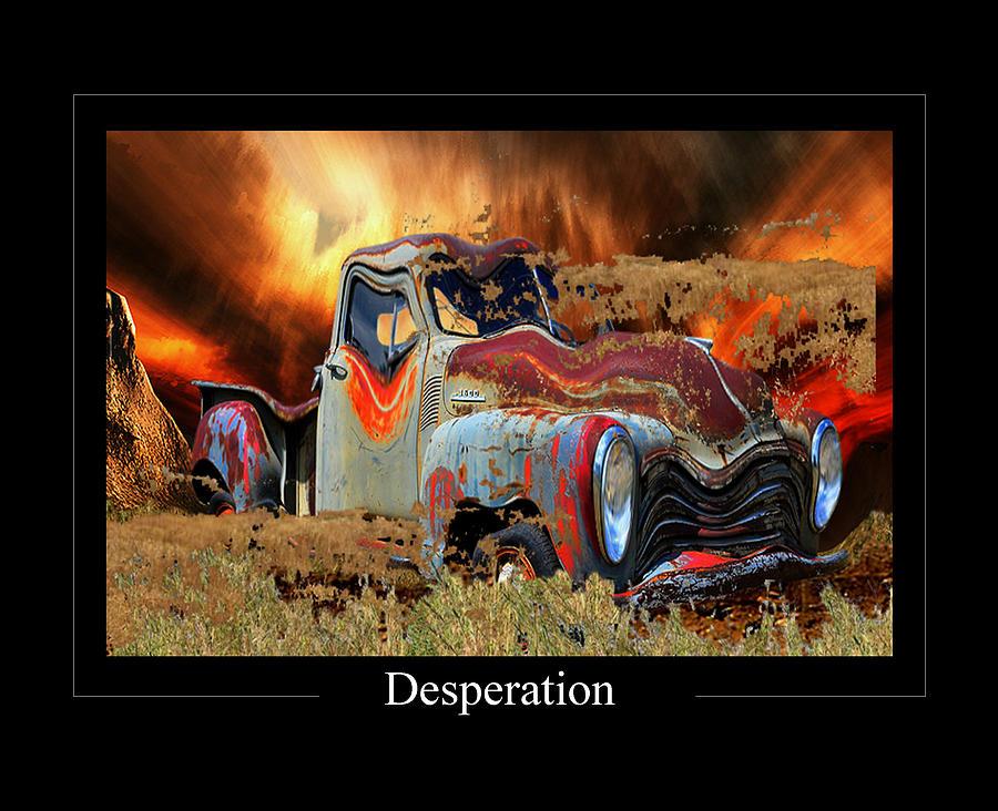 Anger Photograph - Despiration by Calum Faeorin-Cruich