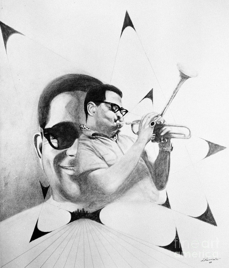 1969 Photograph - Dizzy Gillespie (1917-1993) by Granger