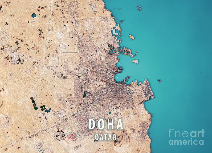Doha 3d Render Satellite View Topographic Map Doha Map on tanzania map, united arab emirates map, al udeid air base, middle east map, dead sea map, bahrain map, doha corniche, qatar airways, dushanbe map, qatar map, riyadh map, sana'a map, al jazeera, ankara map, kuwait map, abu dhabi, education city, world map, abu dhabi map, manama map, dubai map, mosul map, medina map, kuwait city, doha international airport, damascus map, jerusalem map, souq waqif, baghdad map, aspire tower,