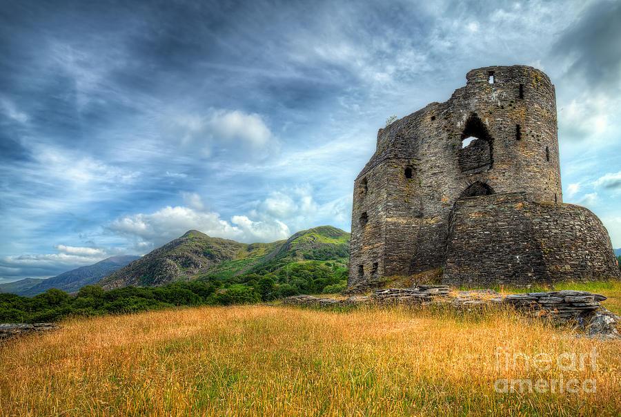 Castle Photograph - Dolbadarn Castle by Adrian Evans