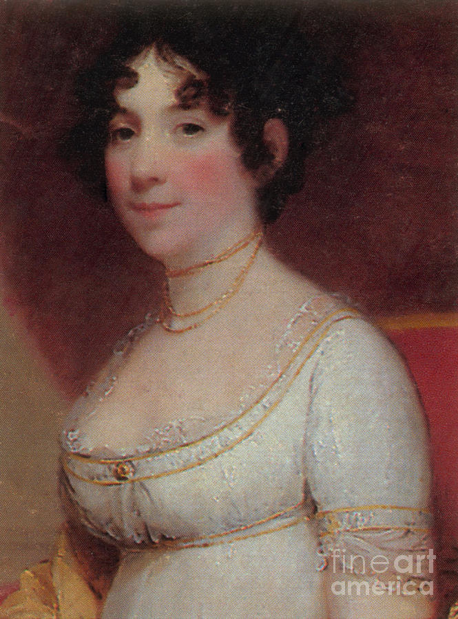 Dolley Payne Todd Madison Photograph - Dolley Madison by Photo Researchers