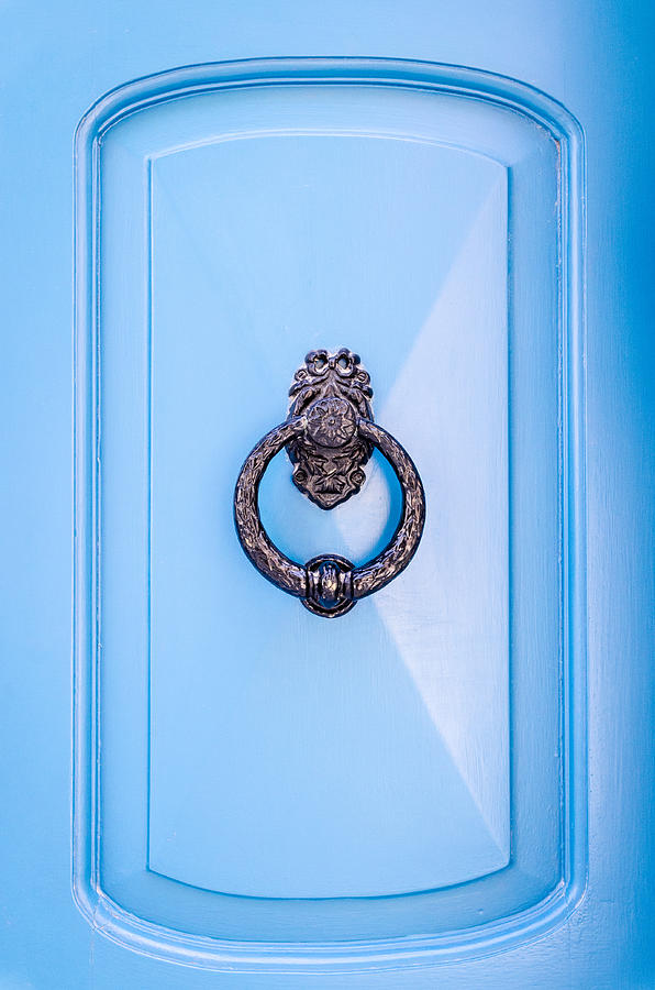 Ancient Photograph - Door Knobs Of The World 48 by Sotiris Filippou