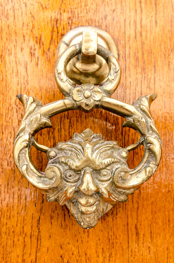Ancient Photograph - Door Knobs Of The World 54 by Sotiris Filippou