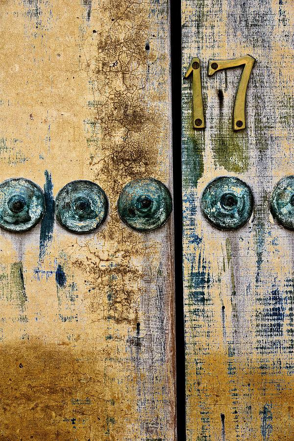 Door Photograph - Door Number 17 In Mexico by Carol Leigh