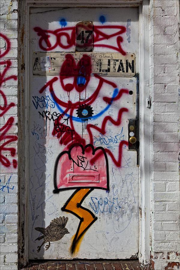 Williamsburg Photograph - Doorway Wiiliamsburg Brooklyn by Robert Ullmann