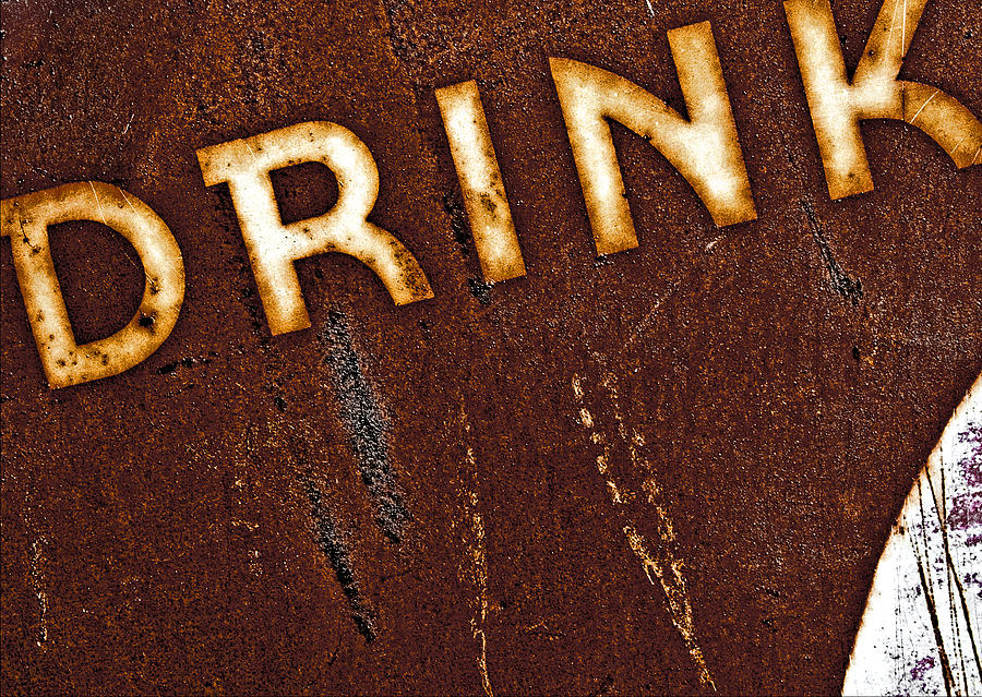 Color Photograph - Drink by Curtis Staiger