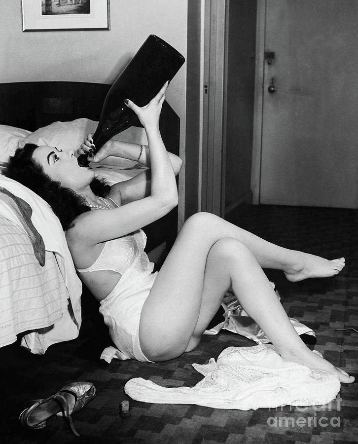 Prohibition Photograph - Drink up by Jon Neidert