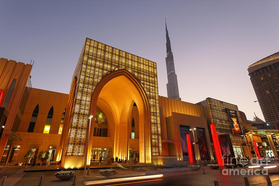 Arab Photograph - Dubai Burj Khalifa by Juergen Held