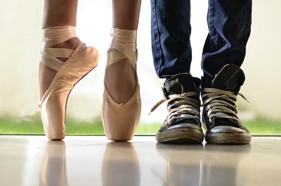Dance Photograph - Duet by Laura Fasulo