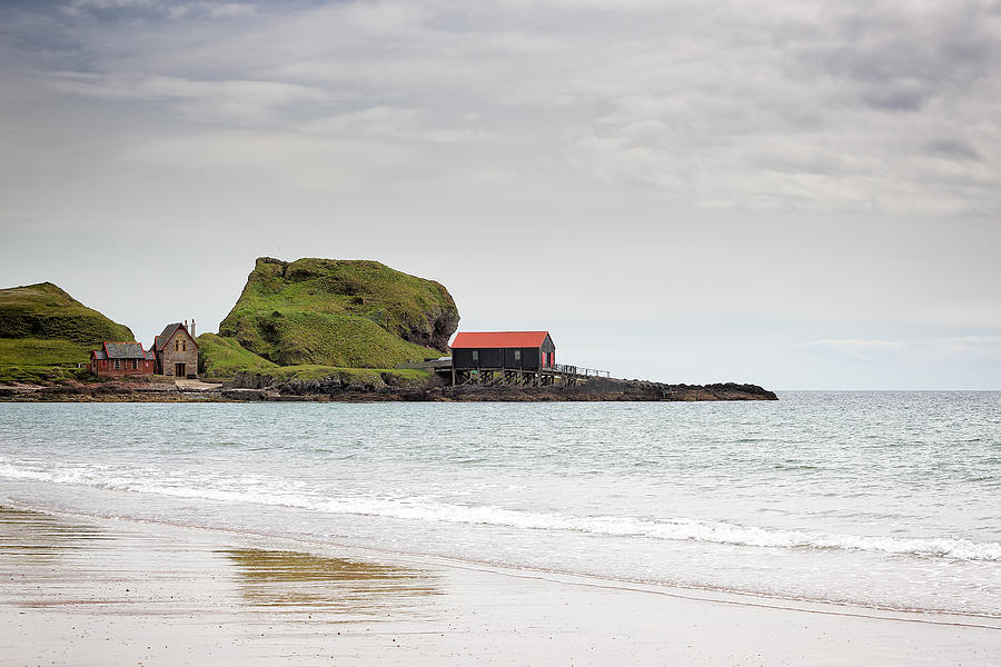 Sea Photograph - Dunaverty Bay by Grant Glendinning