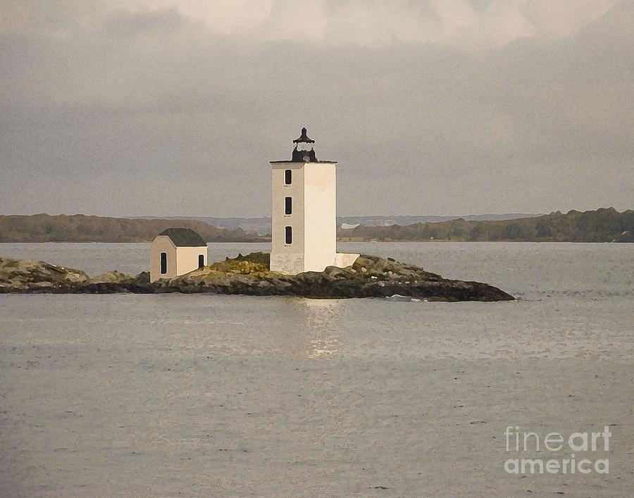 Dutch Island Lighthouse by Robert  Suggs