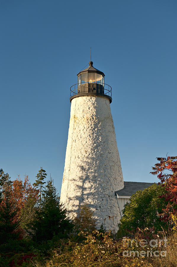 Castine Photograph - Dyce Head Lighthouse by John Greim