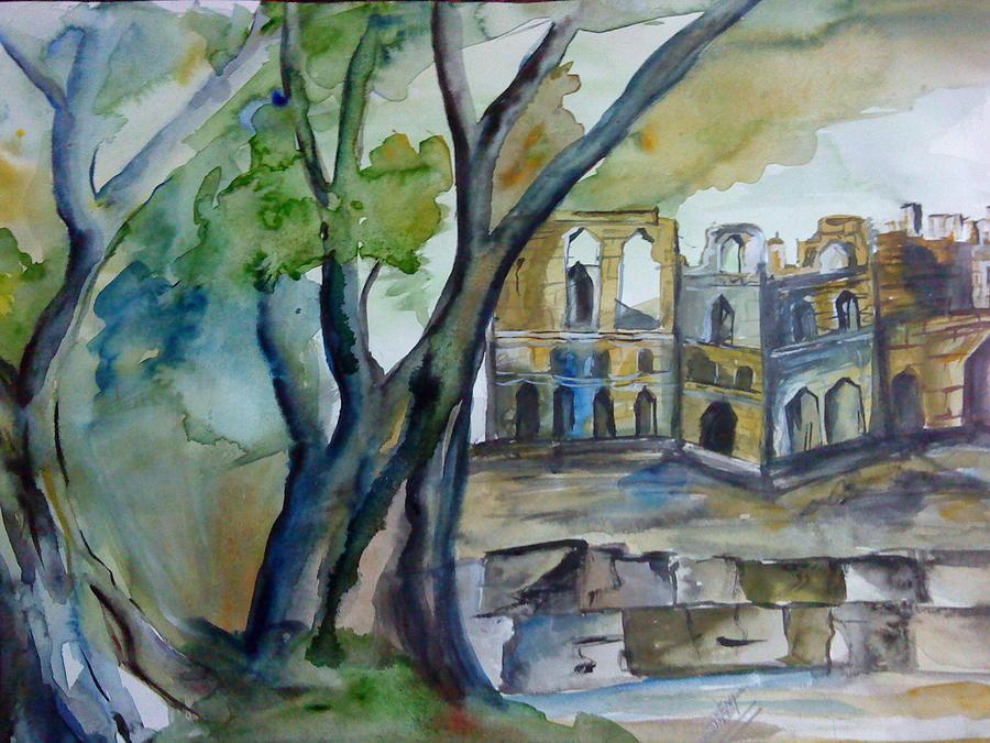 Sonam Painting - e by Sonam Shine