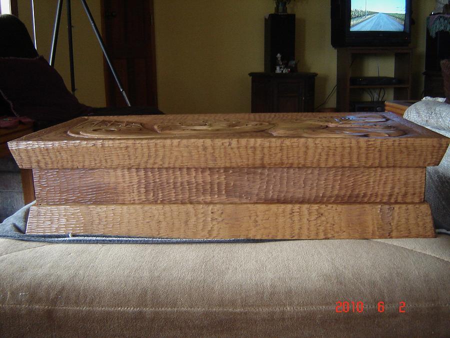 Eagle Relief - Eagle Feather Case by Ken Jefferson