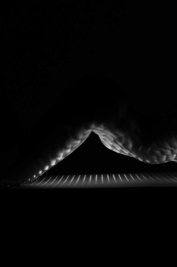 Monochromatic Photograph - Eclipse by Blue Muse Fine Art