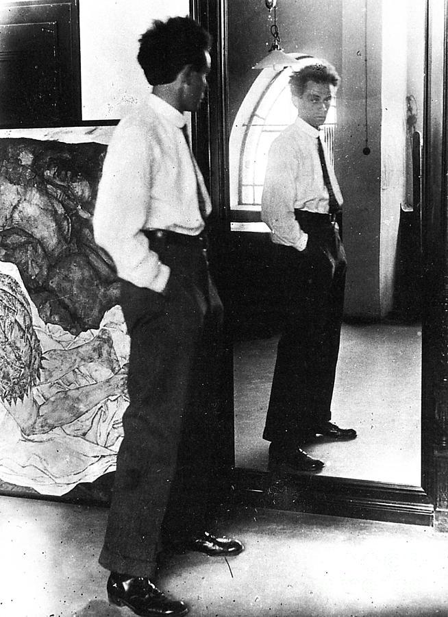 Egon Schiele 1890 1918 Photograph By Granger