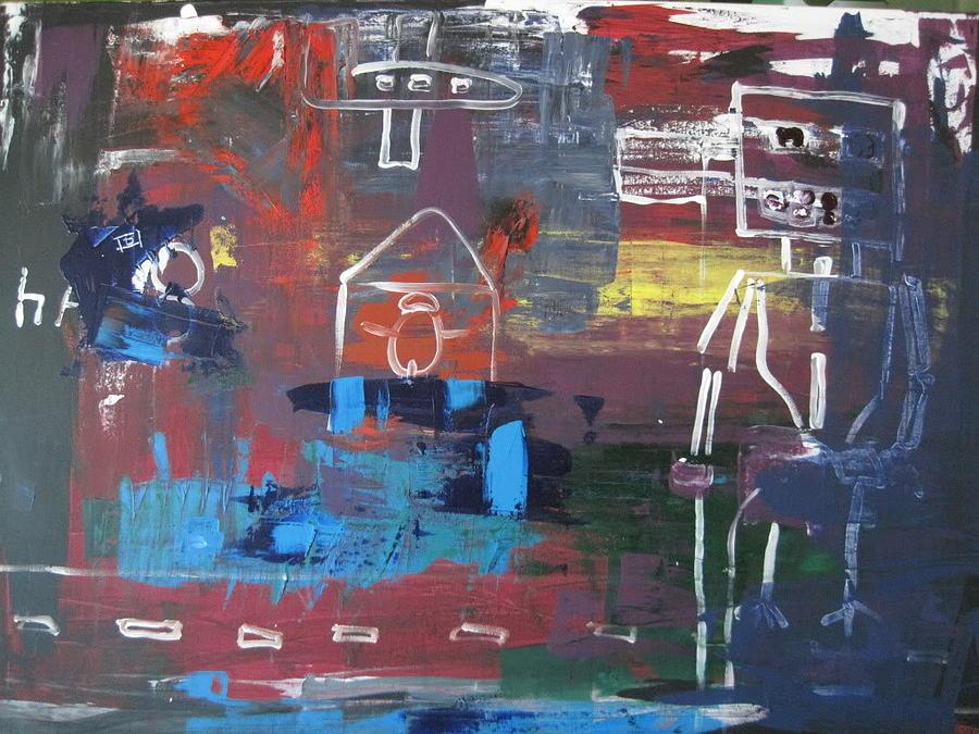 Eight Painting - Eight by David Kristjanson