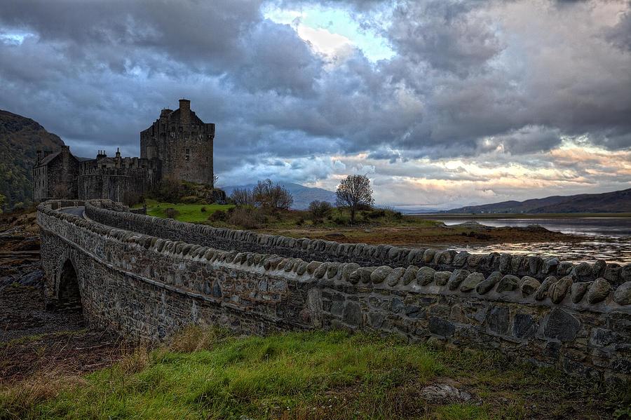 Eilean Donan Castle Photograph - Eilean Donan Castle In The Morning Light by Jim Dohms