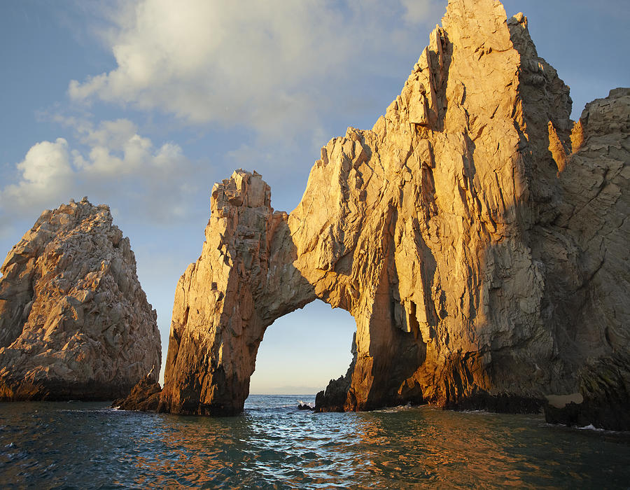 El Arco And Sea Stacks Cabo San Lucas Photograph by Tim Fitzharris