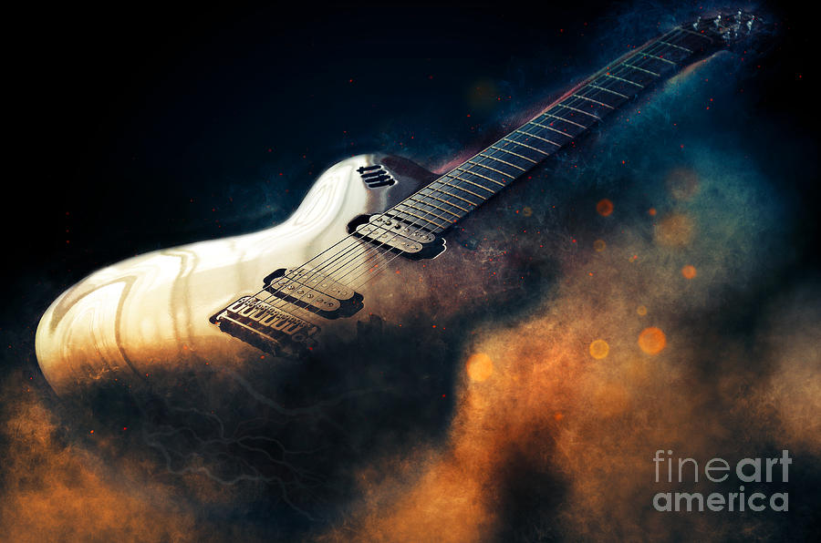 Electric Guitar Art Drawing