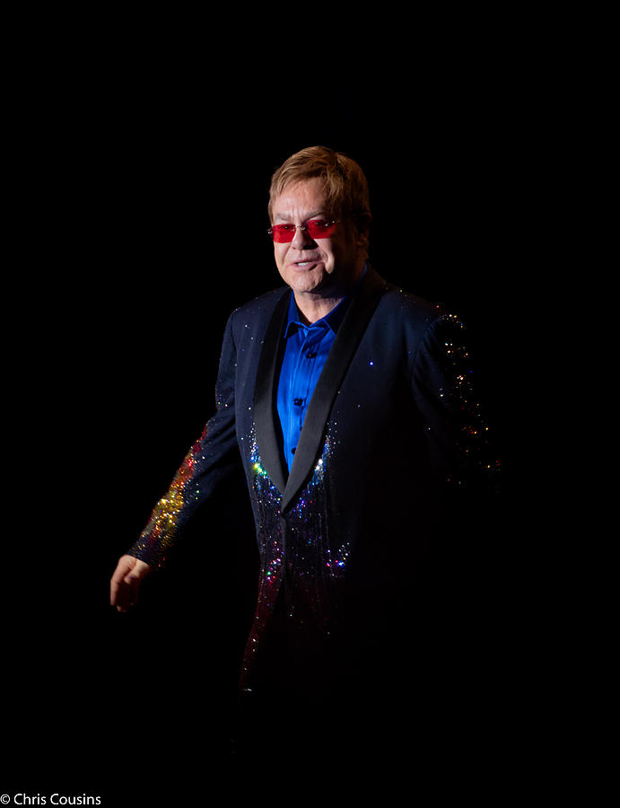 Elton Photograph - Elton John by Chris Cousins