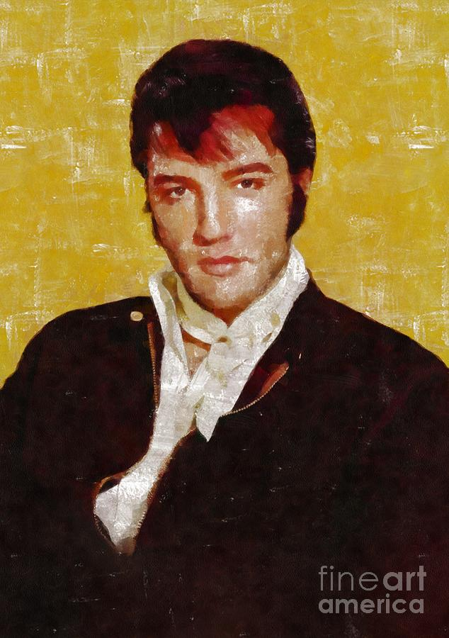 Elvis Presley Y Mb Painting