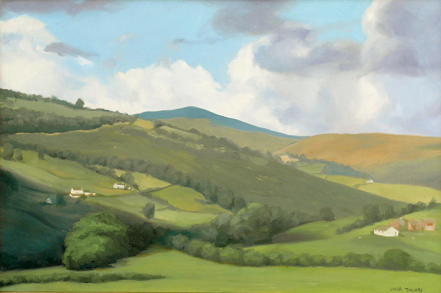 English Countryside by Linda Tenukas