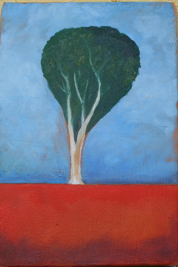 Landscape Painting - Eucalyptus by Victoria Sheridan