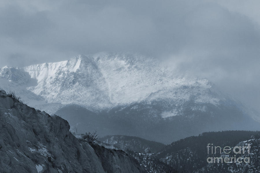 Extreme Winter Weather On Pikes Peak Photograph