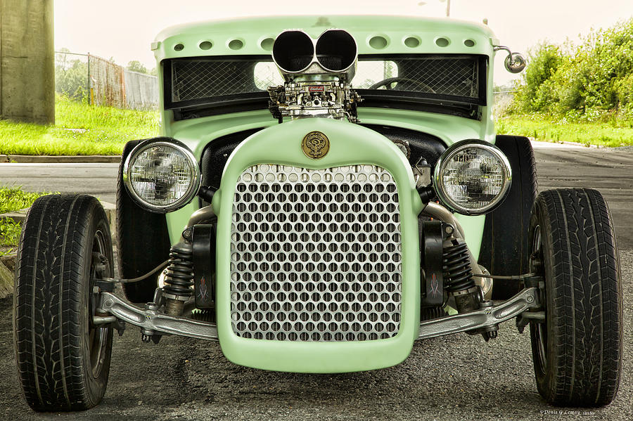 Automobiles Photograph - Face Front by Denis Lemay