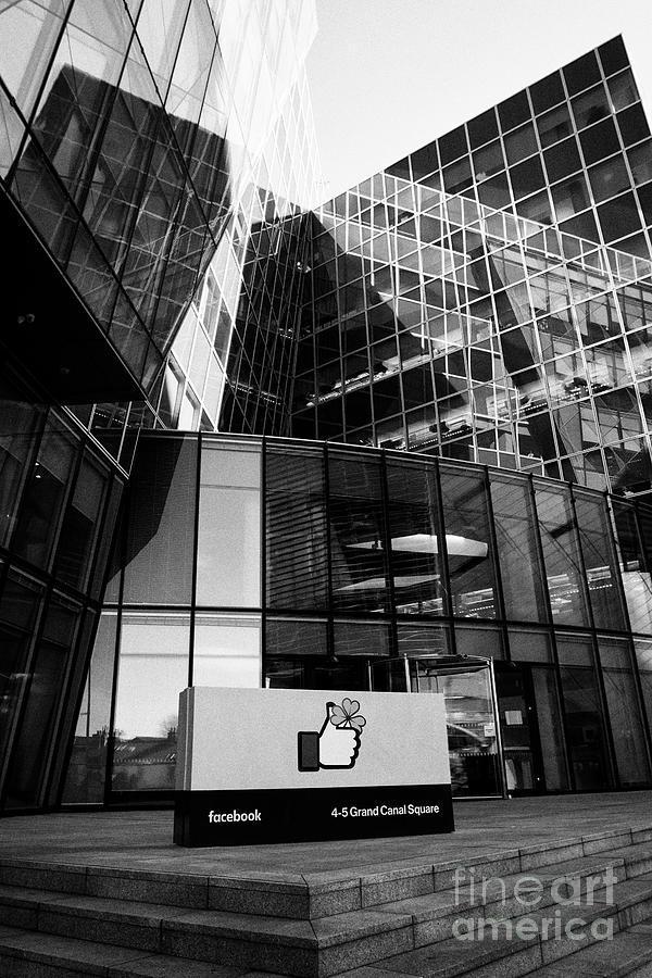 Facebook Ireland Headquarters Building Docklands Dublin Republic Of Ireland  by Joe Fox