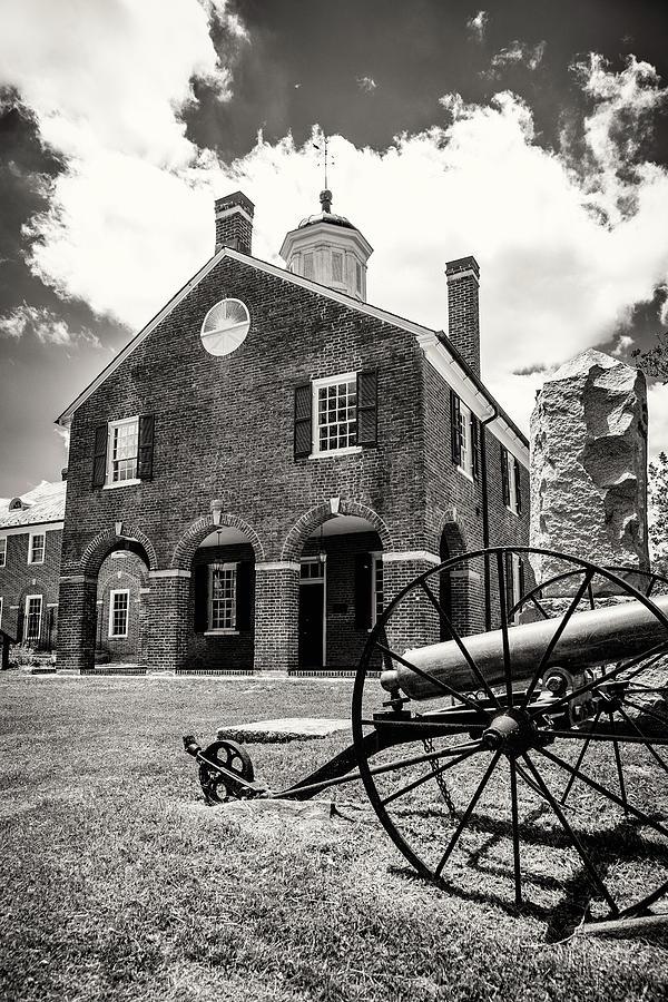 Historic Building Photograph - Fairfax County Courthouse, Fairfax City, Virginia by Mark Summerfield