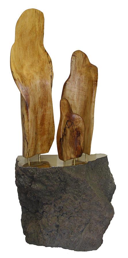 Sculpture Sculpture - Family by Kenneth-Edward Swinscoe