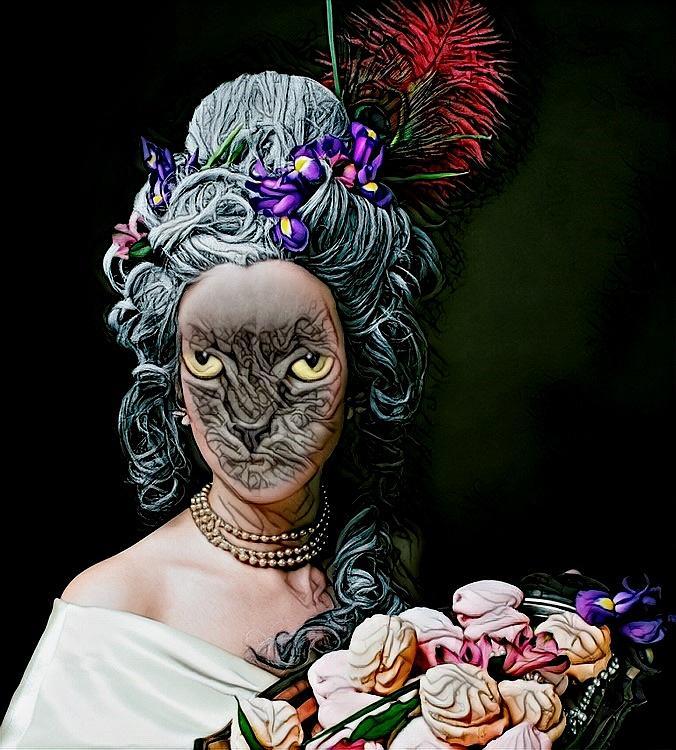 Fantasy Cat Art 24 Digital Art