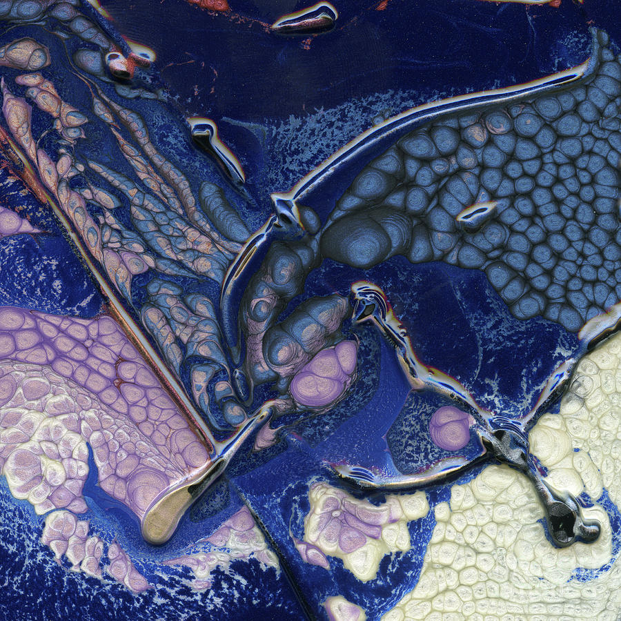 Space Mixed Media - Fantasy Sigil on Open Waters by Terry McConnell