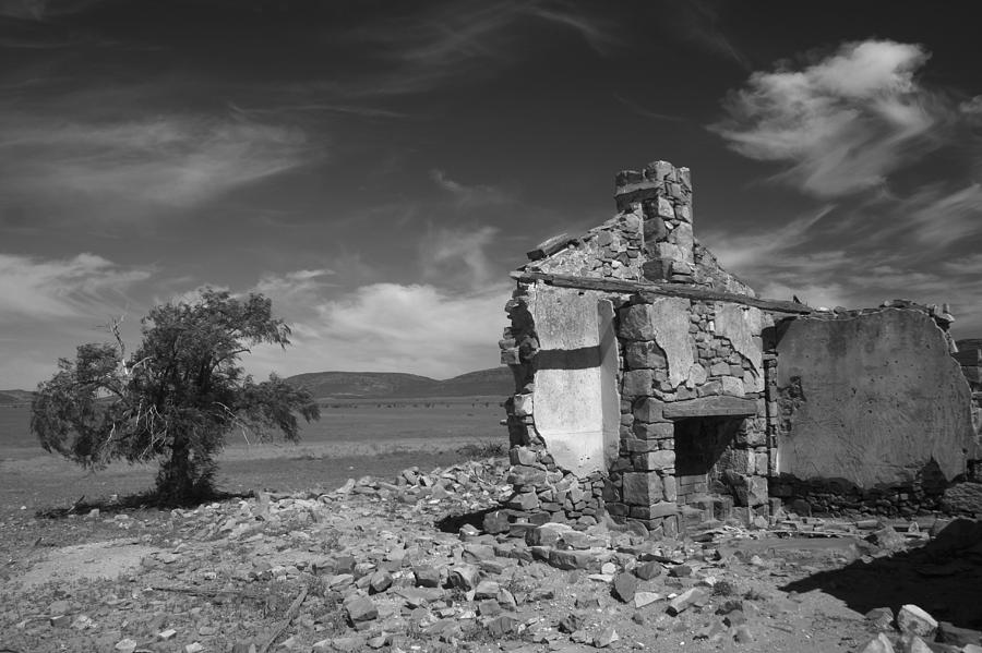 Cottage Photograph - Farmhouse Cottage Ruin Flinders Ranges South Australia by PIXELS  XPOSED Ralph A Ledergerber Photography