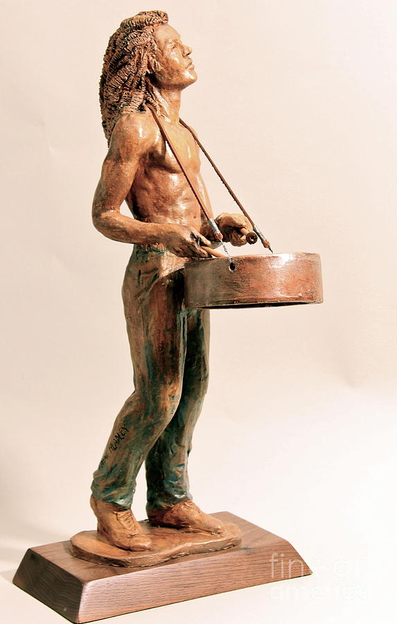 Sculpture Sculpture - Feel De Rhythm by Wayne Headley