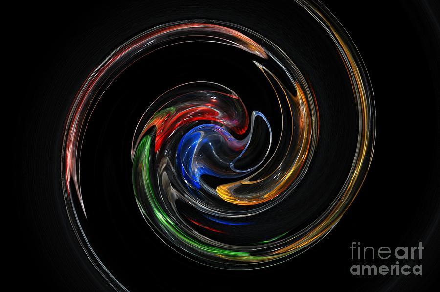 Digital Artwork Digital Art - Feel Happy-colorful Digital Art That Can Enhance Your Mood by Akshay Thaker