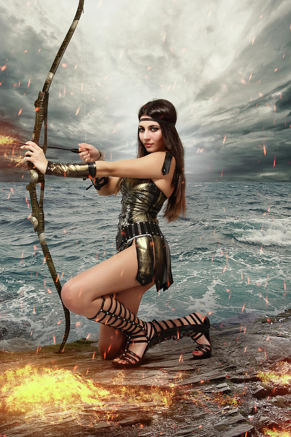 Female Gladiator Fantasy Art